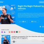 Anchor podcast website